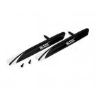Blade 130X Fast Flight Main Rotor Blade Set with Screws - BLH3715
