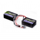 Ansmann Racing 7.4V 4000mAh 30C 2S LiPo Saddle Battery Pack - 167000115