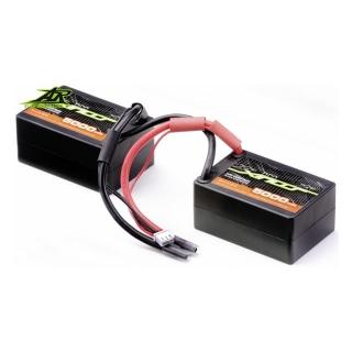 Ansmann Racing 7.4V 5000mAh 30C 2S LiPo Saddle Battery Pack - 167000116