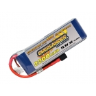 Overlander Supersport LiPo Battery 2200mAh 3S 11.1v 30C with Deans Connector Fitted - OL-2567