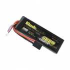 Black Magic 4000mAh 7.4V 30C Semi-Hard Case LiPo Battery with Traxxas Connector - BM4002