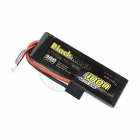 Black Magic 4000mAh 11.1V 30C Semi-Hard Case LiPo Battery with Traxxas Connector - BM4003