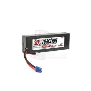 Dynamite Reaction 7.4V 4000mAh 2S 30C Hard Case LiPo Battery with EC3 Connector - DYN9003EC