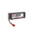 Dynamite Reaction 7.4V 5000mAh 2S 20C Hard Case LiPo Battery with Deans Connector - DYN9004D