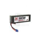 Dynamite Reaction 7.4V 5000mAh 2S 20C Hard Case LiPo Battery with EC3 Connector - DYN9004EC