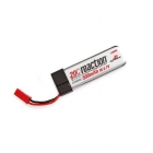 Dynamite Reaction 3.7volt 500mAh 1S 20C LiPo Battery fits 120SR and mQX - DYN9103