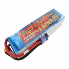 Gens Ace 4400mAh 22.2V 45C 6S1P LiPo Battery with EC5 Connector - G6S4400-45