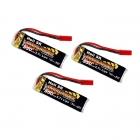 Overlander 3.7v LiPo 550mAh 20C Batteries for Blade 120 SR Helicopter (Pack of 3) - OL-2102