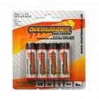 Overlander AA Ultra-Long Life Premium 4 Pack Alkaline Batteries (LR6) - OL-2671