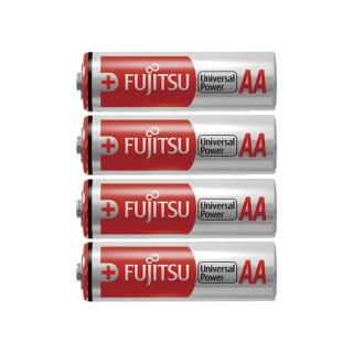 Fujitsu AA Universal Power Premium 4 Pack Alkaline Batteries (LR6) - OL-3161