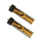 Overlander 220mAh 1S 3.7v 45C LiPo Battery Upgrade for Blade Inductrix (Pack of 2) - OL-3174