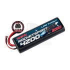 Team Orion Rocket Sport 4200mAh LiPo 7.4V Battery Pack with Uni Connector - ORI14171
