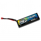Peak Racing 4000mah 45C 14.8v 4S Hardcase LiPo Battery with Deans Connector - PEK00554