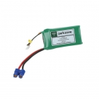 ParkZone 11.1v 1300mAh LiPo Battery with EC3 Connector - PKZ1033