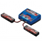 Traxxas X-Maxx 3S LiPo Battery and Dual Charger Combo (1 x 2972T, 2 x 2872X) - TRX2990T