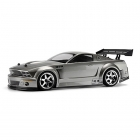HPI Ford Mustang GT-R Body Shell Painted Gunmetal for Sprint 2 Flux (200mm) - 100474