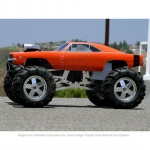 HPI 1969 Dodge Charger Clear Body Shell - 7184