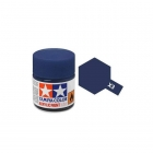 Tamiya Mini X-3 Gloss Royal Blue Acrylic Paint 10ml Bottle - 81503