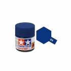 Tamiya Mini X-4 Gloss Blue Acrylic Paint 10ml Bottle - 81504