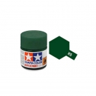 Tamiya Mini X-5 Gloss Green Acrylic Paint 10ml Bottle - 81505