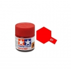 Tamiya Mini X-7 Gloss Red Acrylic Paint 10ml Bottle - 81507