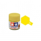 Tamiya Mini X-8 Gloss Lemon Yellow Acrylic Paint 10ml Bottle - 81508