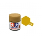 Tamiya Mini X-12 Metallic Gold Leaf Acrylic Paint 10ml Bottle - 81512