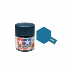 Tamiya Mini X-13 Metallic Blue Acrylic Paint 10ml Bottle - 81513