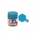 Tamiya Mini X-14 Gloss Sky Blue Acrylic Paint 10ml Bottle - 81514