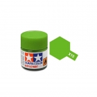 Tamiya Mini X-15 Gloss Light Green Acrylic Paint 10ml Bottle - 81515