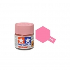 Tamiya Mini X-17 Gloss Pink Acrylic Paint 10ml Bottle - 81517