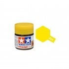 Tamiya Mini X-24 Clear Yellow Acrylic Paint 10ml Bottle - 81524
