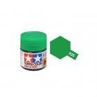 Tamiya Mini X-25 Clear Green Acrylic Paint 10ml Bottle - 81525