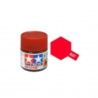 Tamiya Mini X-27 Clear Red Acrylic Paint 10ml Bottle - 81527