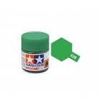 Tamiya Mini X-28 Gloss Park Green Acrylic Paint 10ml Bottle - 81528