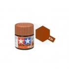 Tamiya Mini X-34 Metallic Brown Acrylic Paint 10ml Bottle - 81534