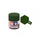 Tamiya Mini XF-5 Flat Green Acrylic Paint 10ml Bottle - 81705