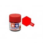 Tamiya Mini XF-7 Flat Red Acrylic Paint 10ml Bottle - 81707
