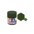 Tamiya Mini XF-13 Flat JA Green Acrylic Paint 10ml Bottle - 81713
