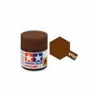 Tamiya Mini XF-64 Flat Red Brown Acrylic Paint 10ml Bottle - 81764