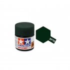 Tamiya Mini XF-70 Flat Dark Green Acrylic Paint 10ml Bottle - 81770
