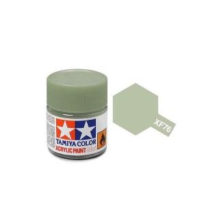 Tamiya Mini XF-76 Flat IJN Grey Green Acrylic Paint 10ml Bottle - 81776