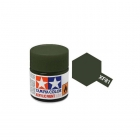 Tamiya Mini XF-81 Flat RAF Dark Green Acrylic Paint 10ml Bottle - 81781