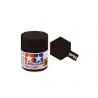 Tamiya Mini XF-85 Flat Rubber Black Acrylic Paint 10ml Bottle - 81785