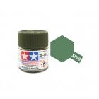 Tamiya Mini XF-89 Flat Dark Green 2 Acrylic Paint 10ml Bottle - 81789