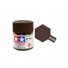 Tamiya Mini XF-90 Flat Red Brown 2 Acrylic Paint 10ml Bottle - 81790