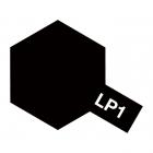 Tamiya LP-1 Gloss Black Lacquer Paint Bottle (10ml) - 82101