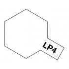 Tamiya LP-4 Matt White Lacquer Paint Bottle (10ml) - 82104