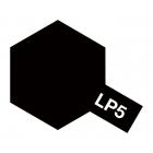 Tamiya LP-5 Semi-Gloss Black Lacquer Paint Bottle (10ml) - 82105