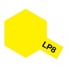 Tamiya LP-8 Gloss Pure Yellow Lacquer Paint Bottle (10ml) - 82108